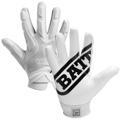 Battle Sports Science Receivers Hybrid Ultra-Stick Football Gloves
