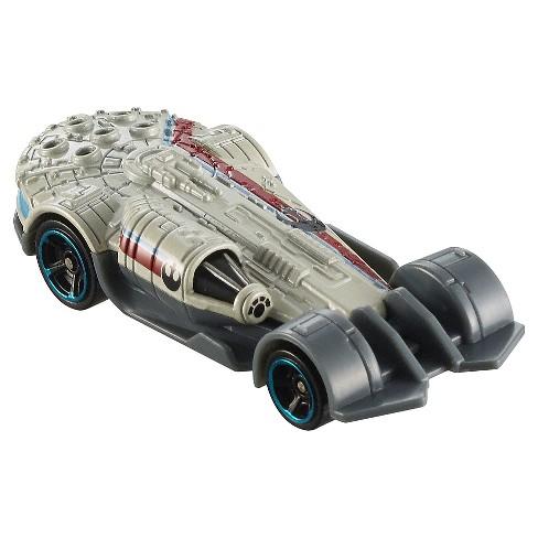 Hot Wheels Star Wars Carships Millennium Falcon Vehicle - image 1 of 4