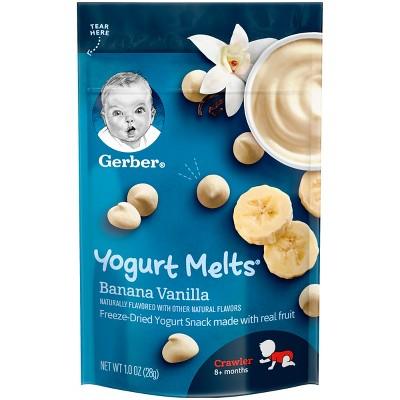 Gerber Yogurt Melts Banana Vanilla - 1oz