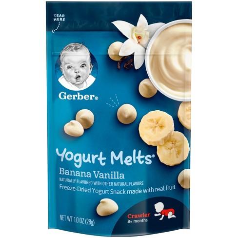 Gerber Yogurt Melts Banana Vanilla - 1oz - image 1 of 2