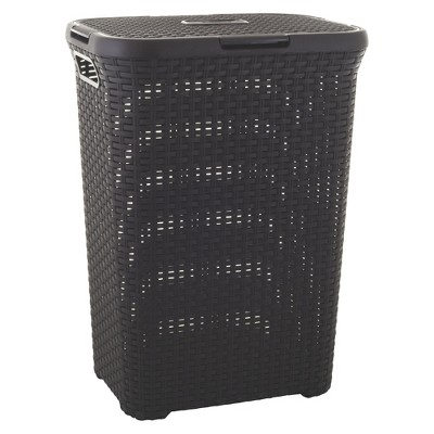 Curver Style 60 Liter Hamper - Dark Brown