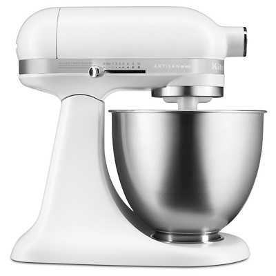 KitchenAid Artisan Mini 3.5qt Tilt-Head Stand Mixer - KSM3311XFW