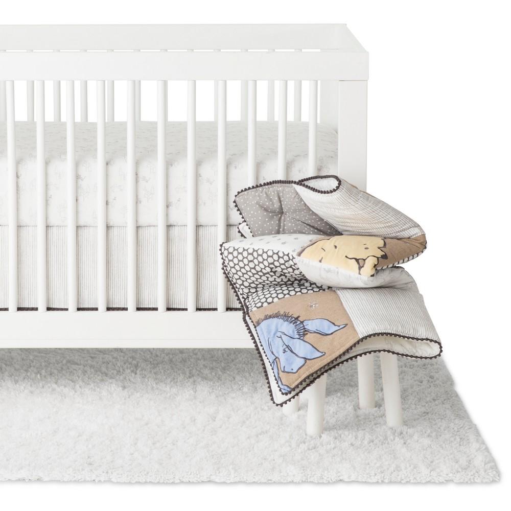 Disney Crib Bedding Set - Winnie the Pooh - 3pc - Brown