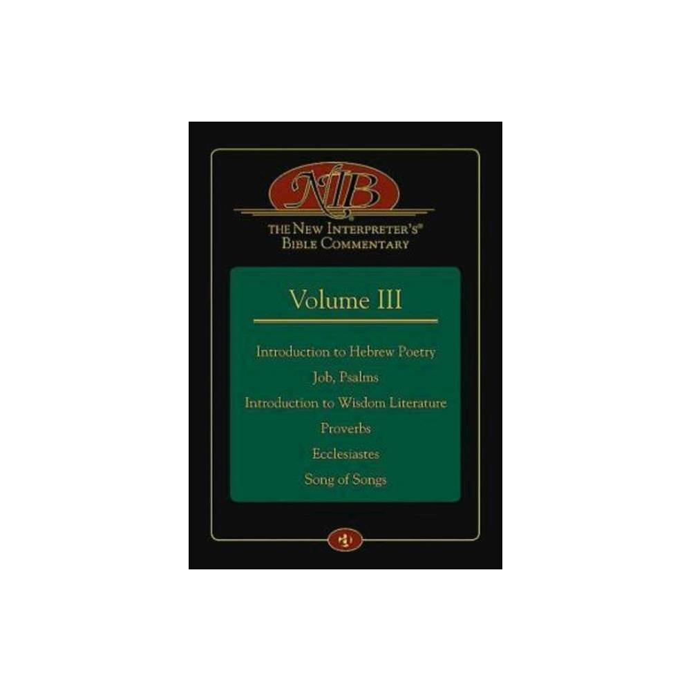 The New Interpreter S R Bible Commentary Volume Iii Hardcover