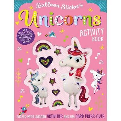 Unicorns - (Balloon Stickers) (Paperback) - by Stuart Lynch
