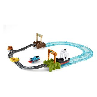 Fisher-Price Thomas & Friends TrackMaster Boat & Sea Set