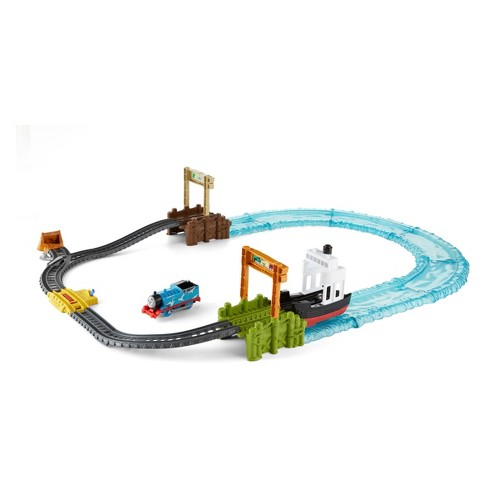 Fisher Price Thomas Friends Trackmaster Boat Sea Set