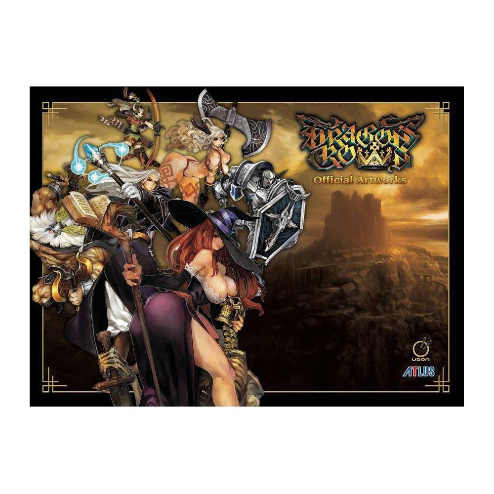 Dragon S Crown Official Artworks By Vanillaware Hardcover