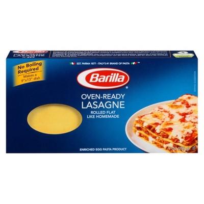 Barilla Oven-Ready Lasagne