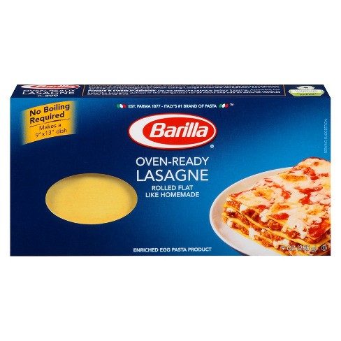 Barilla Oven Ready Lasagna Noodles - 9oz - image 1 of 1