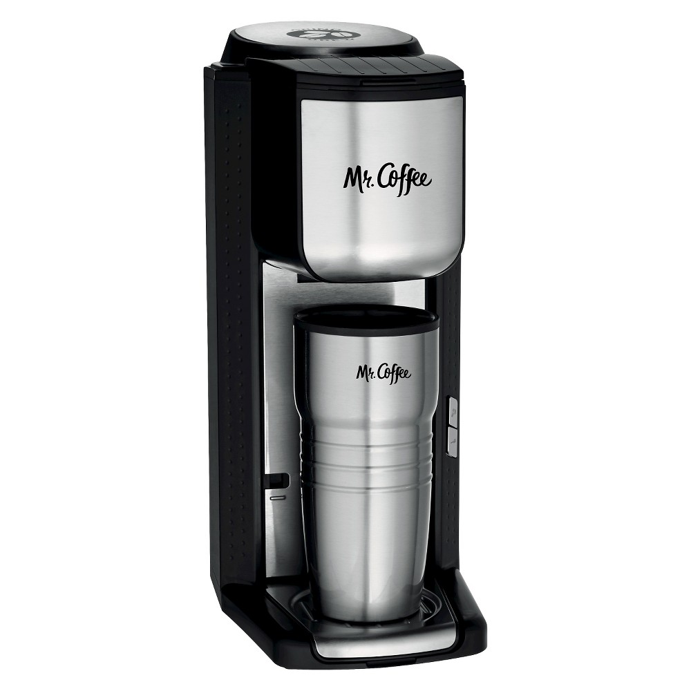 Mr. Coffee Single Cup Coffee Maker – Bvmc-SCGB200, Silver 51251885