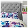 Blue Cmykaren Abstract Watercolor Duvet Cover Set (Twin) - Deny Designs - image 2 of 4