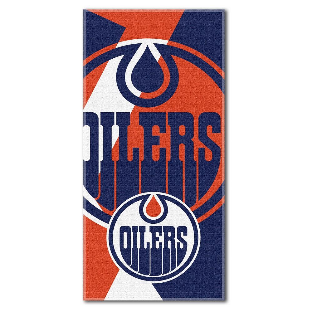Edmonton Oilers Northwest Puzzle Beach Towel