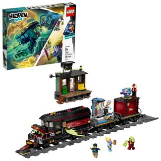 LEGO Hidden Side Ghost Train Express Augmented Reality (AR) Toy Train Building Kit 70424