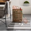 Manmade Outdoor Wicker Basket Beige - Threshold™ designed with Studio McGee - image 2 of 4