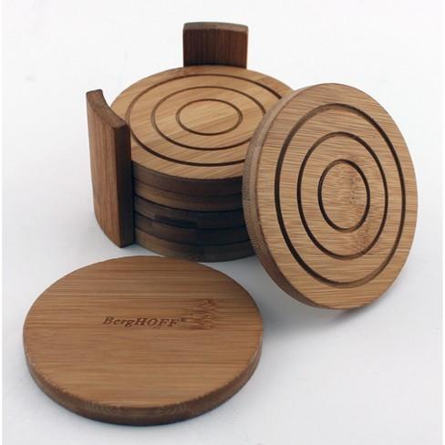 Berghoff 7 Pc Bamboo Circular Coaster Set Target