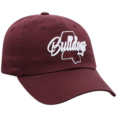 NCAA Mississippi State Bulldogs Women's State Washed  Cotton Hat