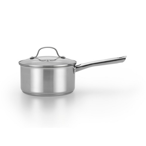 T Fal 3qt Stainless Steel Saucepan With Lid