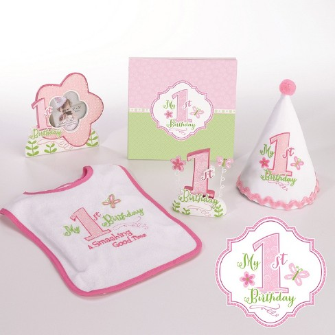 Lillian Rose Pink First Birthday Party Set - image 1 of 1