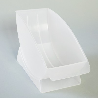 Lakeside Vertical Standing Plate Cradle Rack for Salad and Dessert Dishes