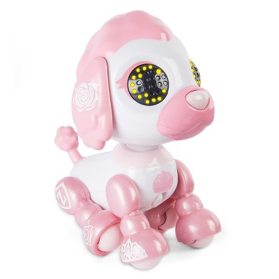 Zoomer Zupps Royal Pups Empress Poodle, Litter 4 - Interactive Puppy with Lights, Sounds and Sensors
