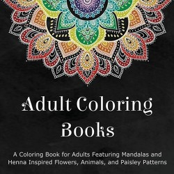 Adult Coloring Books - (Paperback)