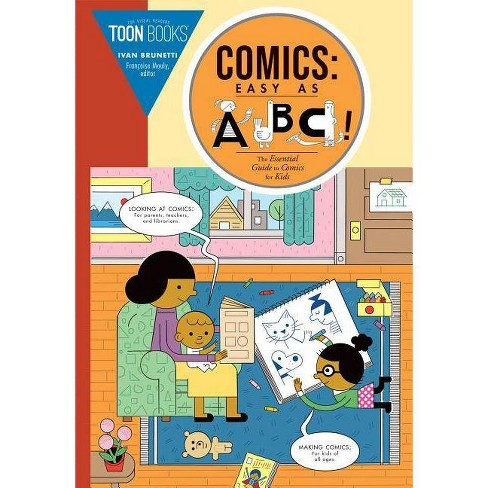 Comics: Easy as ABC - by  Ivan Brunetti (Hardcover) - image 1 of 1