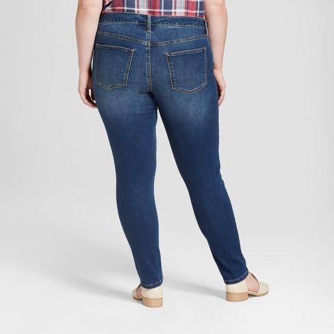 58c27deb57b82 Women s Plus Size Jeggings - Universal Thread™ Dark Wash   Target