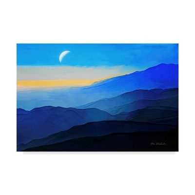 "22"" x 32"" Blue Mountains by Ata Alishahi - Trademark Fine Art"