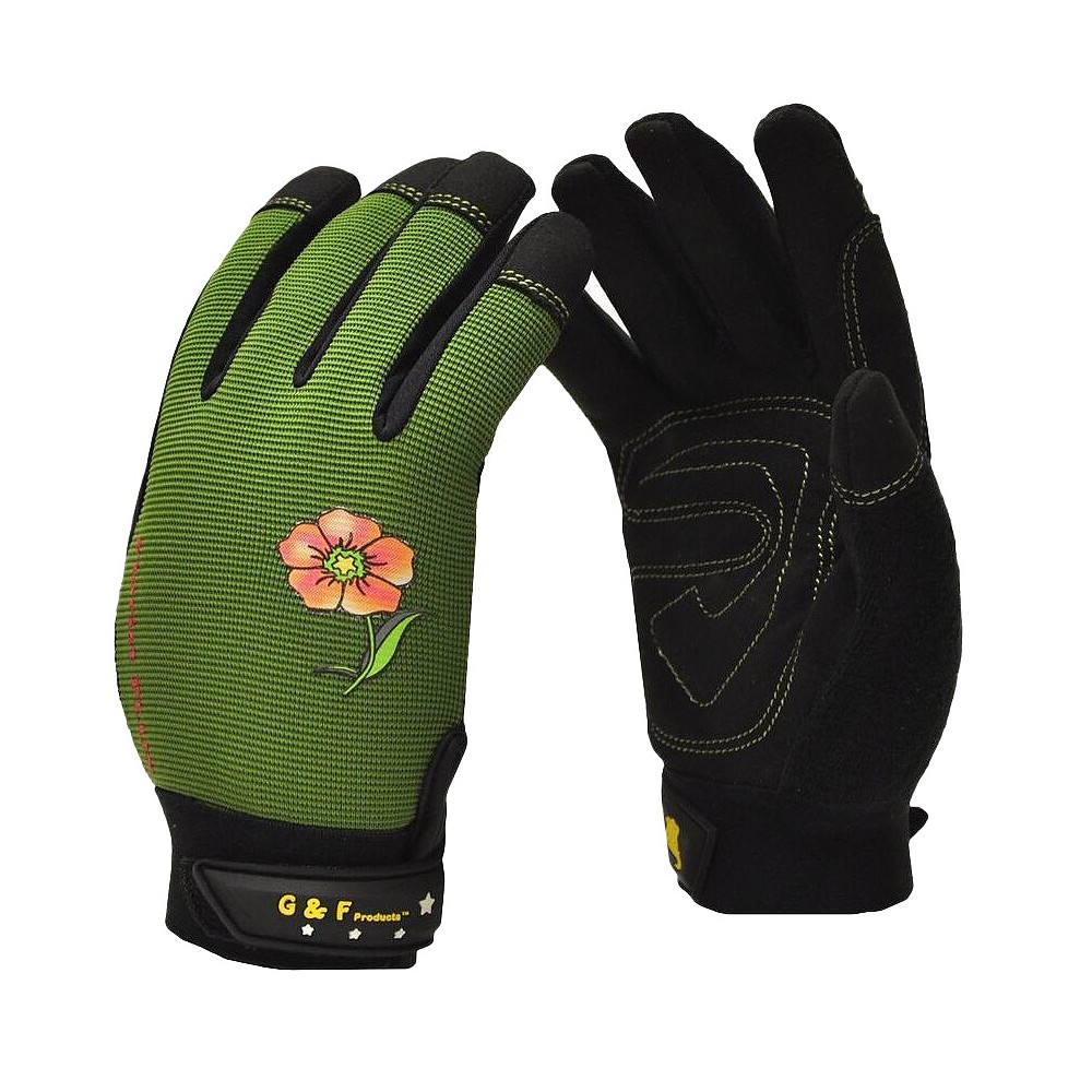 Image of Florist Performance Women's Garden Gloves - Large - Yellow - G & F