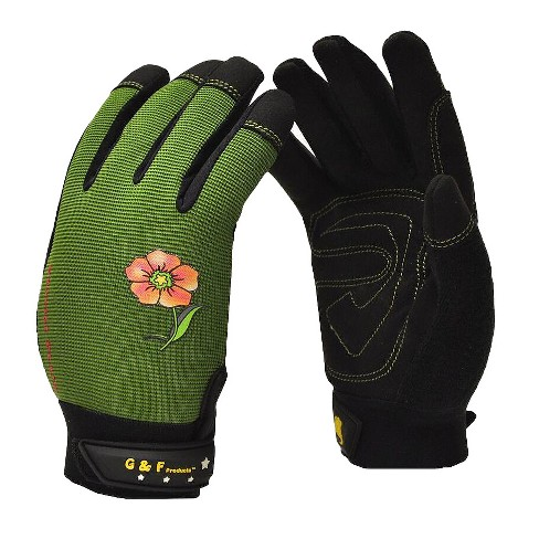 Florist Plus High Performance Women's Garden Gloves - G & F Products - image 1 of 6