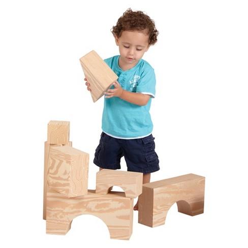 Edushape Big Wood-Like Blocks - image 1 of 2