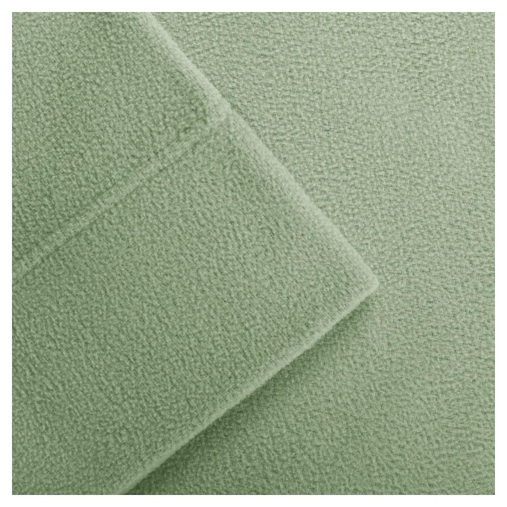 Micro Fleece Sheet Set, Green