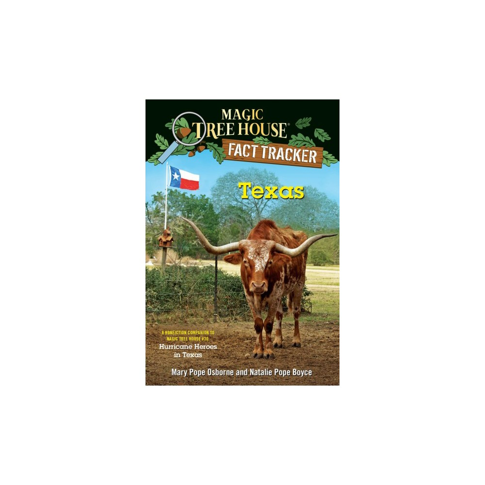 Texas : A Nonfiction Companion to Magic Tree House - Hurricane Heroes in Texas - (Paperback)