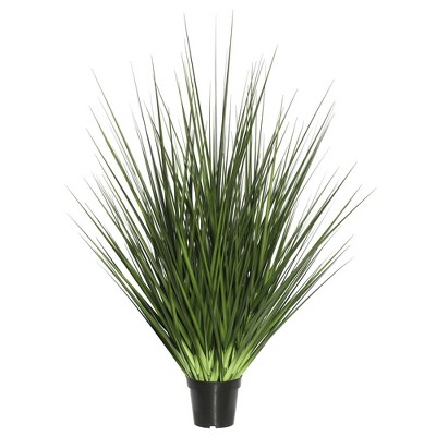 """Artificial Extra Full Grass Potted (24"""")- Vickerman"""