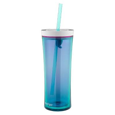 Contigo Shake & Go Hydration Bottle 20oz - Scuba Blue