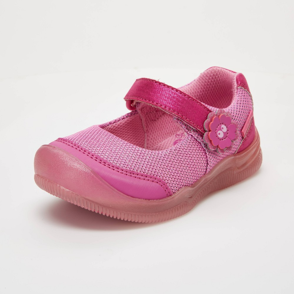 Best Price Toddler Girls Surprize By Stride Rite Sandy Light Up Sneakers Pink 12