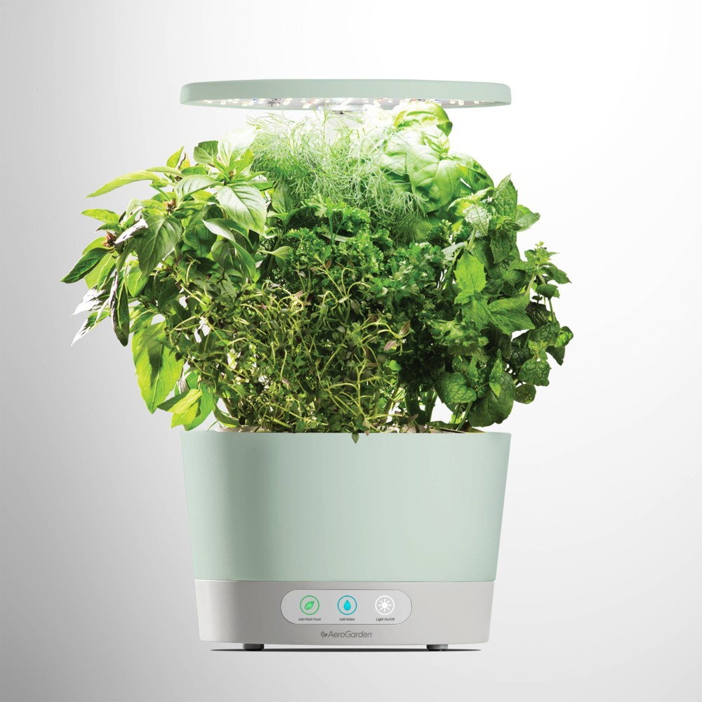 Image of Harvest 360 Planter Set Sage - Aerogarden, Green