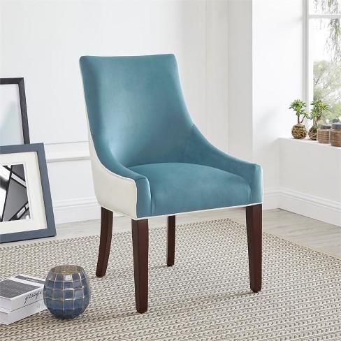 Phenomenal Jolie Upholstered Dining Chair Seafoam Green Comfort Pointe Interior Design Ideas Ghosoteloinfo