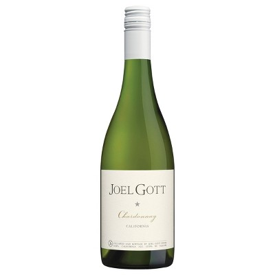 Joel Gott Unoaked Chardonnay White Wine - 750ml Bottle