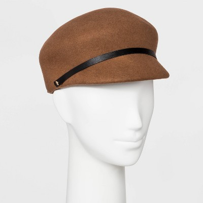 Women's Felt Newsboy Hat   A New Day™ Camel One Size by A New Day