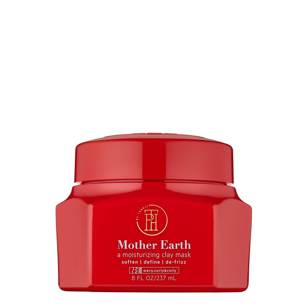 Image of TPH by TARAJI Mother Earth Moisturizing Clay Mask - 8 fl oz
