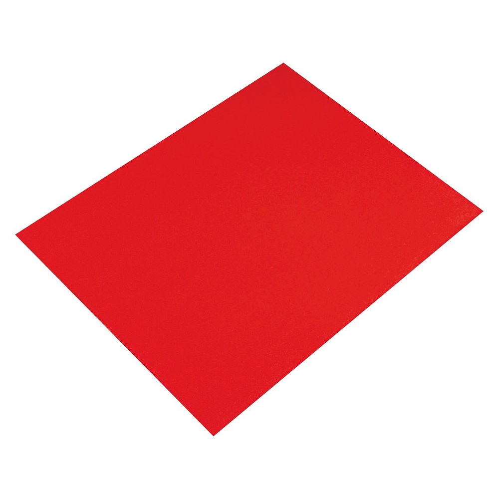 Pacon Four-Ply Poster Board - Red