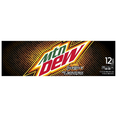 Mountain Dew Live Wire Soda - 12pk/12 fl oz Cans - image 1 of 3