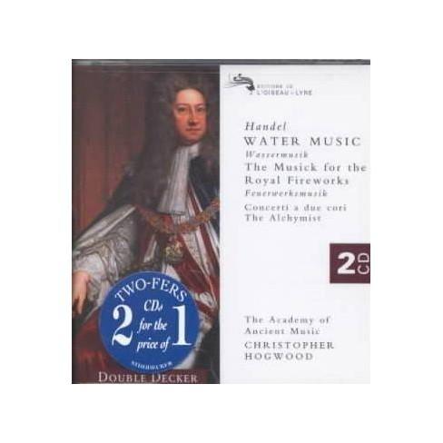 Christopher; Academy of Ancient Music (UK)  George Frideric; Hogwood Handel - Handel:Water Music (CD) - image 1 of 1