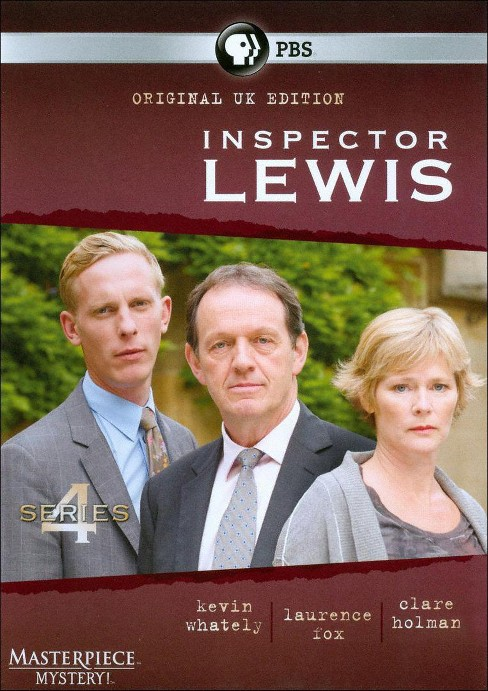 Inspector lewis series 4 (DVD) - image 1 of 1