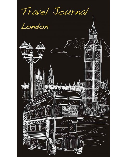 Travel Journal London (Paperback) - image 1 of 1