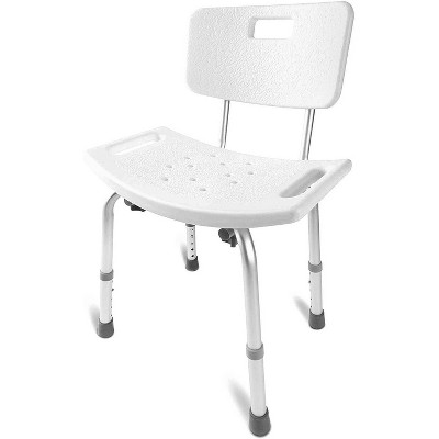 DMI Heavy Duty Non-Slip Alum Bath and Shower Chair - HealthSmart