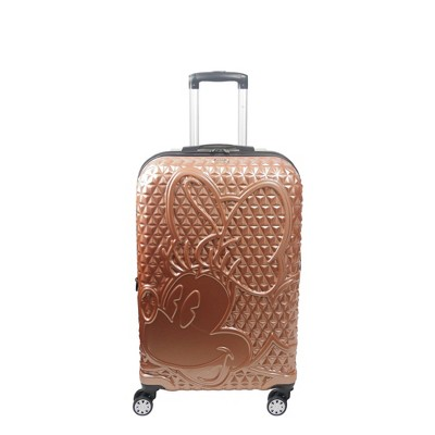 FUL Disney Minnie Mouse 25'' Hardside Suitcase - Rose Gold