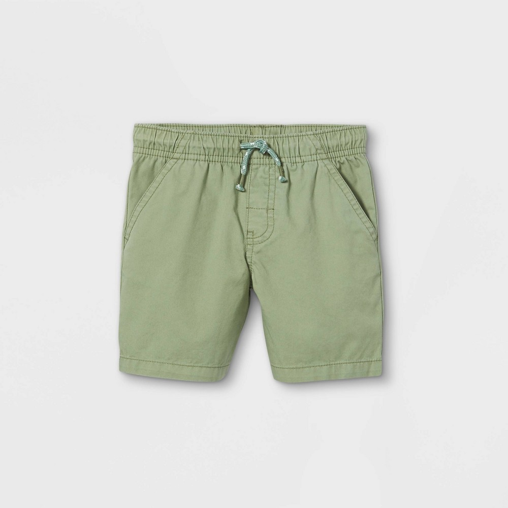 Toddler Boys 39 Woven Pull On Shorts Cat 38 Jack 8482 Pale Green 3t